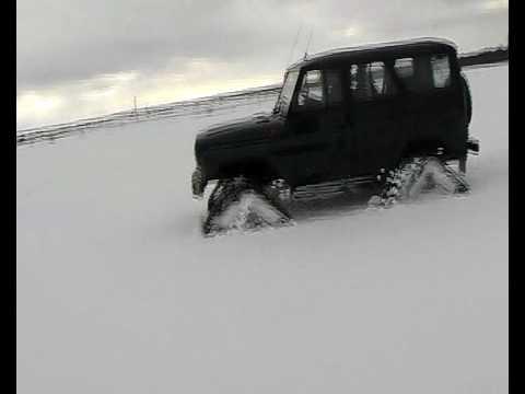 Джипы на снегу.mp4