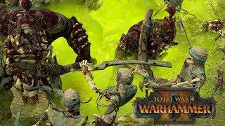 The Worst Light Cavalry - Tomb Kings vs Greenskins // Total War: Warhammer II Online Battle