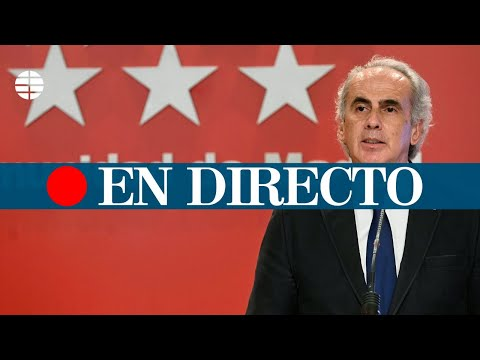 DIRECTO CORONAVIRUS | La Comunidad de Madrid comparece tras la reunión con Sanidad