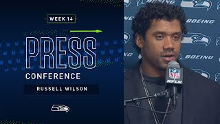 Russell Wilson Postgame Press Conference at Rams | 2019 Seattle Seahawks