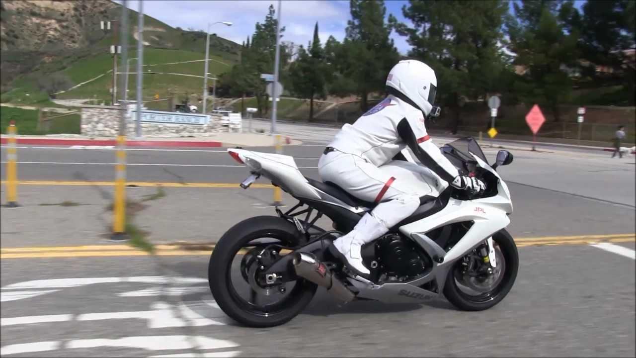 Street Ride Customized Suzuki Gsx R750 Review By A