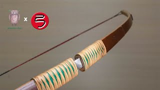 Making combination bamboo bow | bow and arrow #057