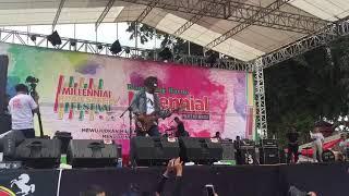 Puncak MRSF Polres Blitar Kota, Cokelat dan Dodit Sukses Hibur 25 Ribu Generasi Millenial