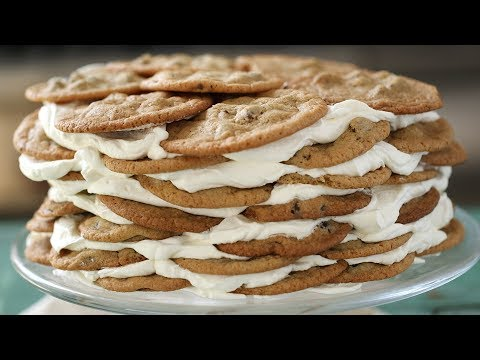 Chocolate Chip Cookie Icebox Cake- Everyday Food with Sarah Carey
