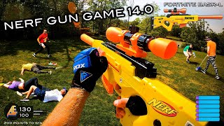 NERF GUN GAME 14.0 | (Nerf First Person Shooter!)