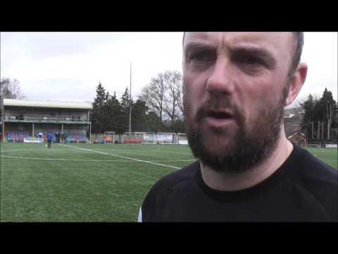Hughes speaking after comeback against Llandudno