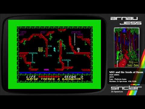 Nixy and the Seeds of Doom Zx Spectrum by Andy Johns