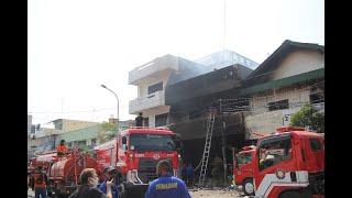 Kebakaran di Rembang Padam setelah Hampir 24 Jam | Toko Mebel dan Dua Bangunan Ludes