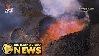 Hawaii Volcano Eruption Update - Monday Morning (June 25, 2018)