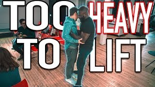 Bodybuilder loses ALL strength INSTANTLY!! // ft. Mike Boyd & Gabriel Sey