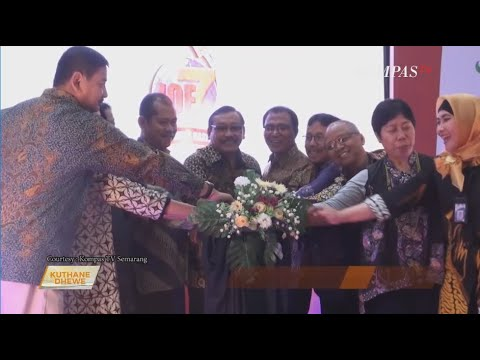 https://www.youtube.com/watch?v=4s8e6cOnPUo&t=1sIQE 2019 di KUTHANE DHEWE Kompas TV Semarang