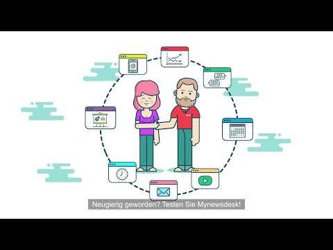 Die All-in-One Lösung für Unternehmenskommunikation von Mynewsdesk