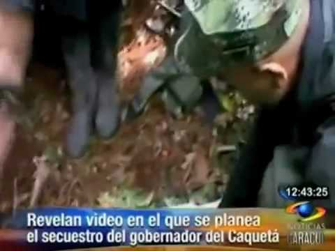 Video plan secuestro Gobernador del Caquetá
