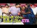 KTR distributes Bathukamma sarees at Sircilla..