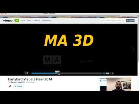 MA3D v3.1 - Tech Talks 05-13-2016