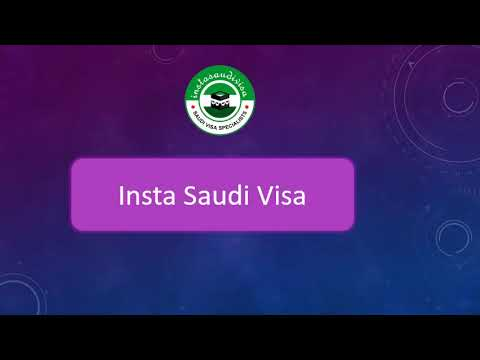 Apply Saudi Visa Online