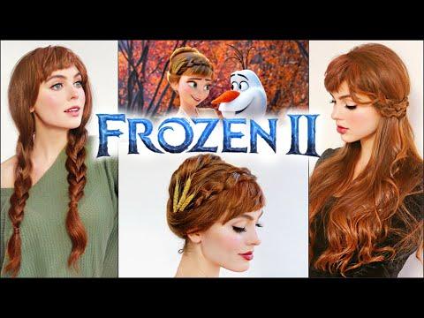 "Anna ""Frozen 2"" Hair Tutorial | Disney Princess IRL"