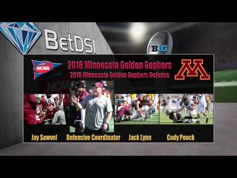 2016 NCAA Betting | Minnesota Golden Gophers Team Preview and Odds