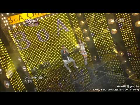 120817 Sehun dance CUT with BoA - Only One _ Performance