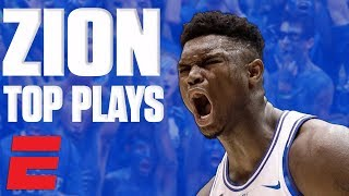 Zion Williamson's top plays of November   College Basketball Highlights