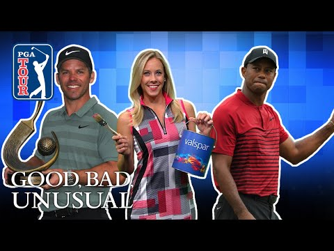 "Tiger great again"" Celebrities, fans chime in & Scott plays with kid?s clubs"