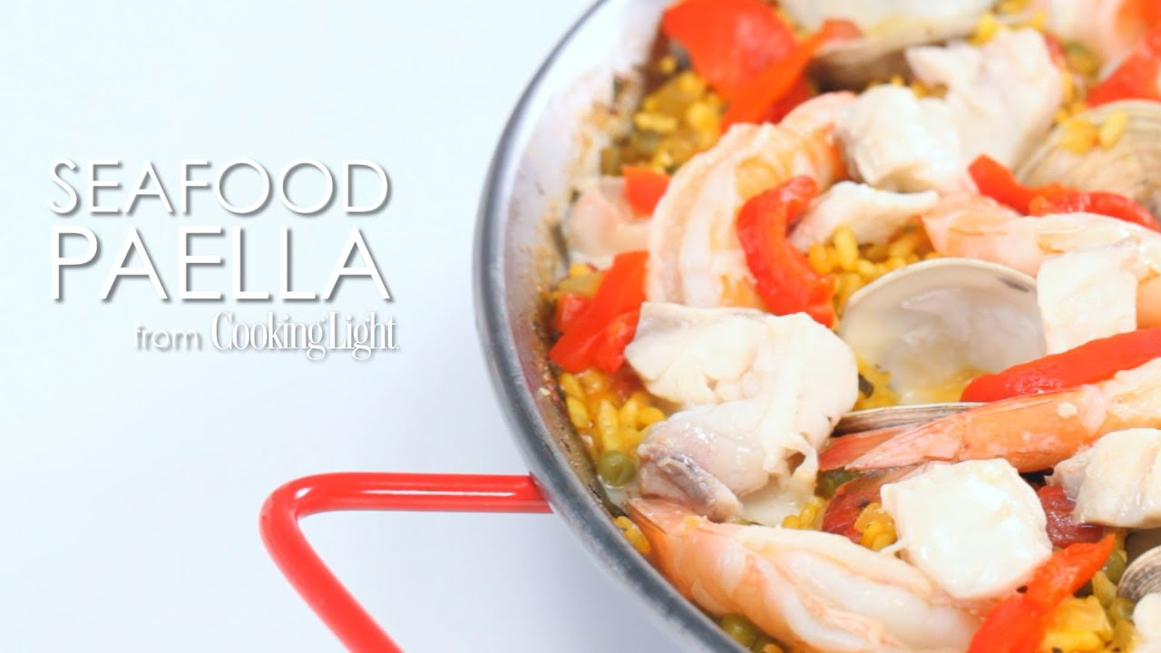 How to Cook Seafood Paella   MyRecipes