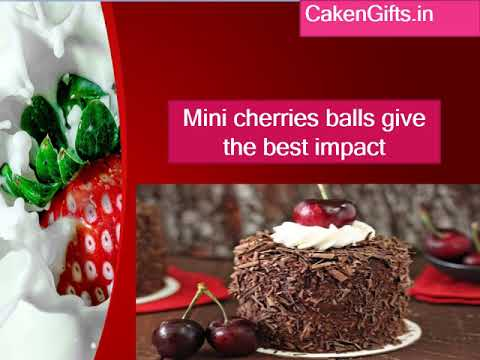 Fresh fruit cake online with CakenGifts