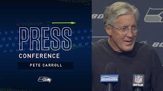Head Coach Pete Carroll Bye Week Tuesday Press Conference   2019 Seattle Seahawks
