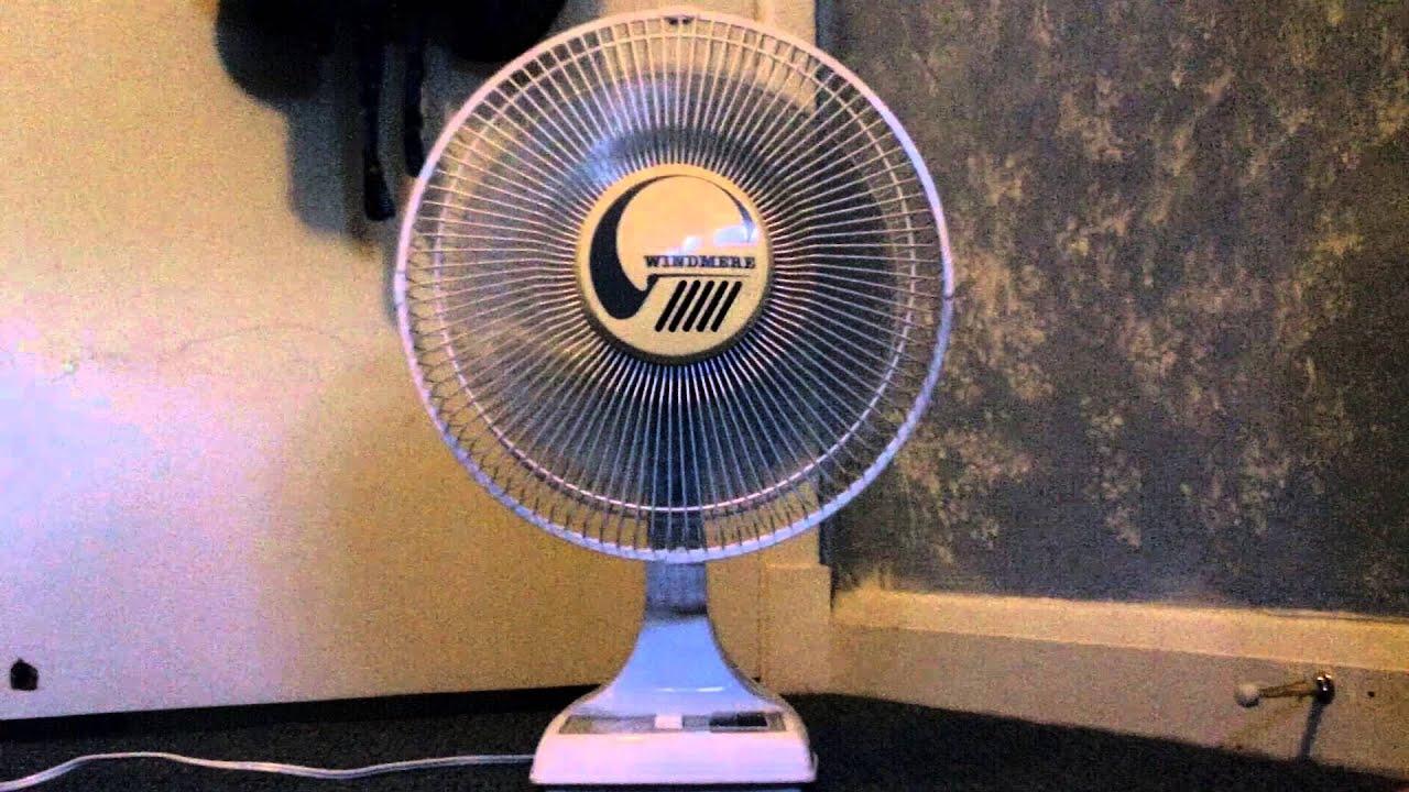 Windmere 12 U0026quot  Oscillating Fan