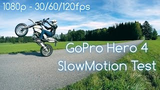 GoPro Hero 4 Black | 1080p 30/60/120 fps | Slow Motion Comparison