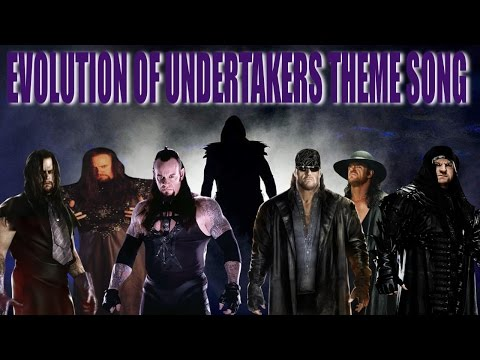 Evolution Of Undertakers Theme Song 1990 - 2015