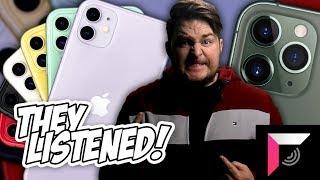 APPLE LISTENED TO US! iPhone 11, iPhone 11 PRO, iPhone 11 PRO MAX - Full recap