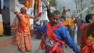 नवरात्रि पूजा, Talli Harmani, Chamoli. Uttarakhand