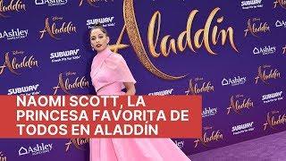 Naomi Scott, la princesa favorita de todos en Aladdín
