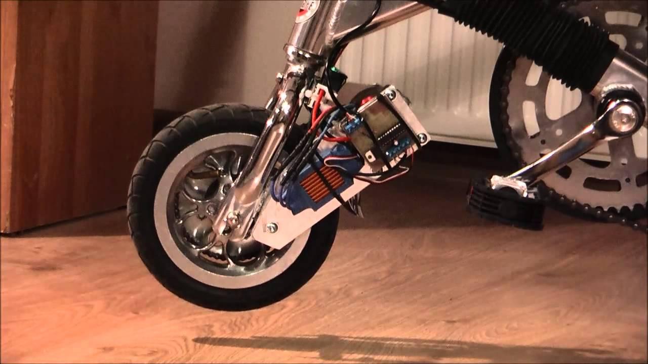 Electric Mini Folding Bike Twister Minibike Diy