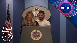 The Big Tease: Kirstie and Ryan's first presidential orders | Celebrity Big Brother 2018