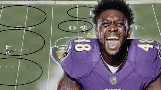 Film Study: Partick Queen has a Fantastic first game for the Baltimore Ravens