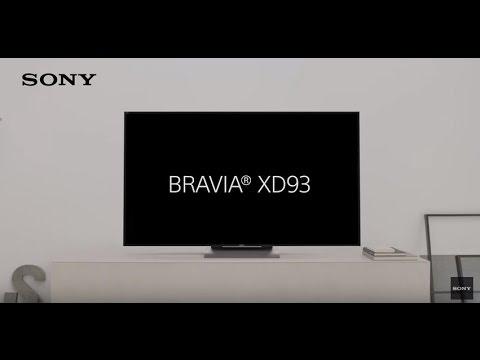Il nuovo TV 4K HDR - BRAVIA XD93