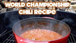 National Champion Chili Recipe (2018)