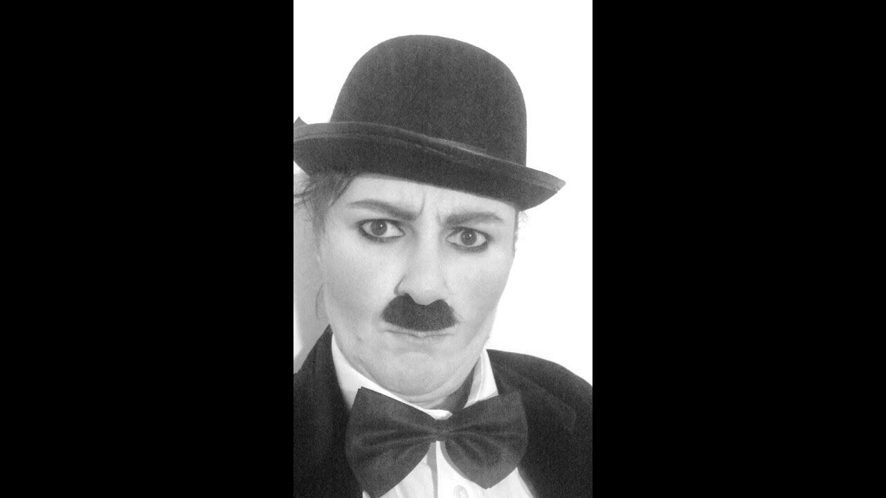 Mr Charlie Chaplin Make- up Tutorial on RuZaa TV - YouTube