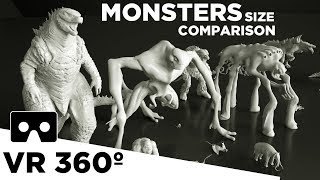 MOVIE MONSTERS in perspective   VR 360 👹