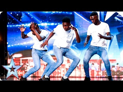 Mythical Onez are like the Reggie N Bollie of dance   Auditions Week 6   Britain's Got Talent 2016