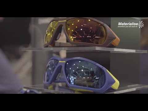 3D-Printed Sports Eyewear | Materialise and SEIKO's Award-Winning Xchanger Collection