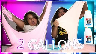 DIY 2 GALLONS OF GIANT FLUFFY SLIME