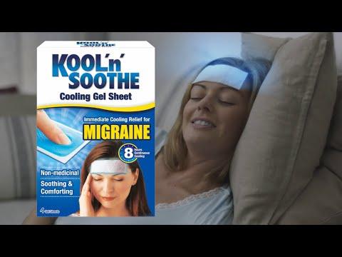 Kool 'n' Soothe Migraine Cool Strips
