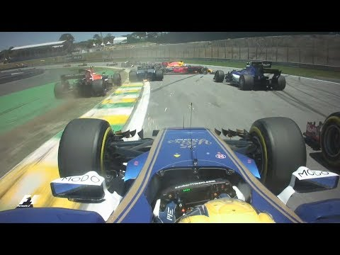 2017 Brazil Grand Prix   Best Onboards