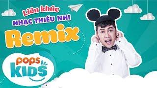 Liên khúc nhạc thiếu nhi remix sôi động - Cái bống, Don Nguyễn, Con Cào Cào - Phát sóng 24/24