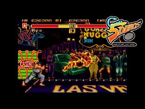 "SUPER STREET FIGHTER 2 (MEGADRIVE BOOTLEG) - ""CON 5 DUROS"" Episodio 633 (+CTR!!!) (1cc)"