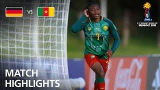 Germany v Cameroon  - FIFA U-17 Women's World Cup 2018™ - Group C
