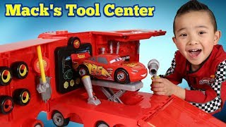 Mack's Mobile Tool Center Disney Cars 3 Toys Unboxing Fun With Ckn Toys